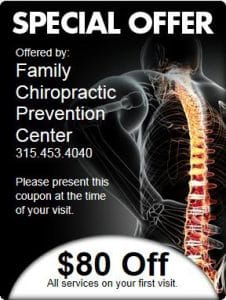 Chiropractic Liverpool NY special offer